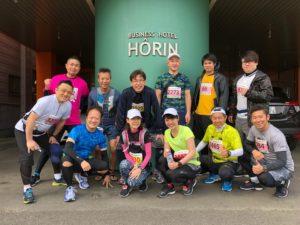 千歳国際マラソン集合